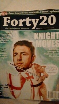 Forty 20 The Rugby League Magazine Oct 2015 Vol 5 No 10
