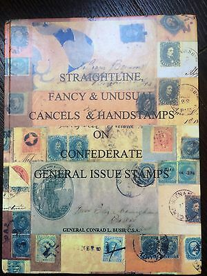 Straightline, Fancy & Unusual Cancels & Handstamps On Confederate General Issues