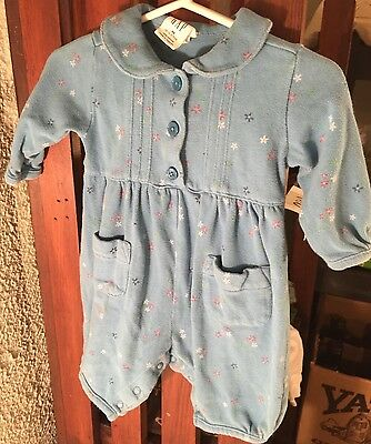 Baby Gap Girls One Piece Outfit Size Up To 3 Months Newborn Flowers
