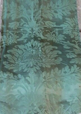 Antique French c1880 Silk Home Dec Frame Textile Fabric Panel~Pillows, Design