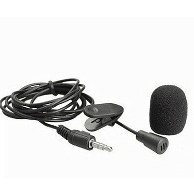 30Hz ~ 15000Hz Mini 3.5mm wired Lapel Clip On Microphone for Teaching Lectures
