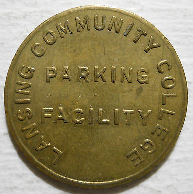 Lansing Community College (Michigan) parking token - MI3560E