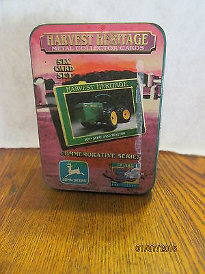 John Deere 18th Commemorative Series Metal Collector Cards by Taylor & Messick