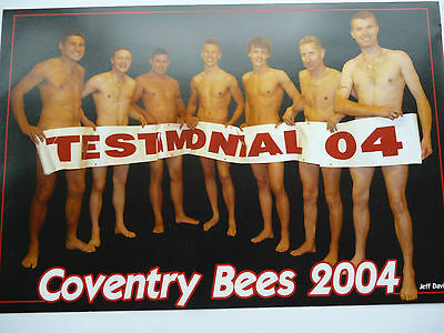 Calling all Coventry Fans! Coventry Bees Photo 2004 9 inches x 6 inches