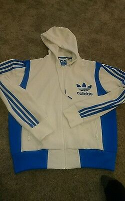 Adidas  vintage  hooded top size large