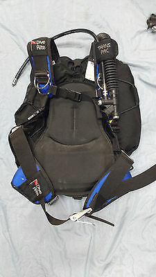 Dive Rite Trans Pac With Trek Wing M/L