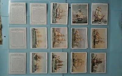 Players Old Naval Prints Full Set Mint condition in Sleeves