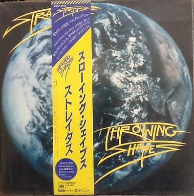 Stratus - Throwing Shapes  Rare Japanese Vinyl