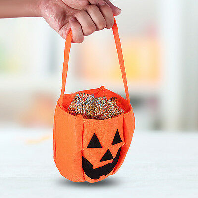 Gift Birthday Smile Party Toys Hand Bag Candy Kids Bag Halloween Pumpkin Bags