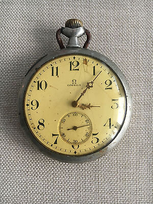 Vintage Omega Pocket Watch for Repair or Parts