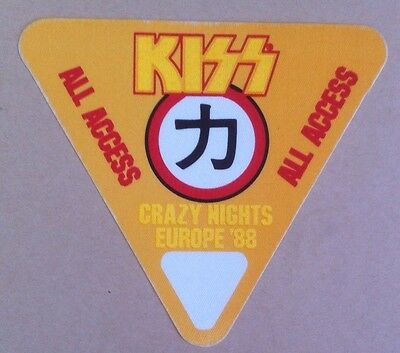 Kiss -  stage pass Access All Areas