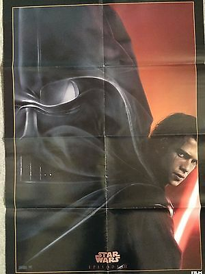 Large Revenge Of The Sith Poster Star Wars Darth Vader