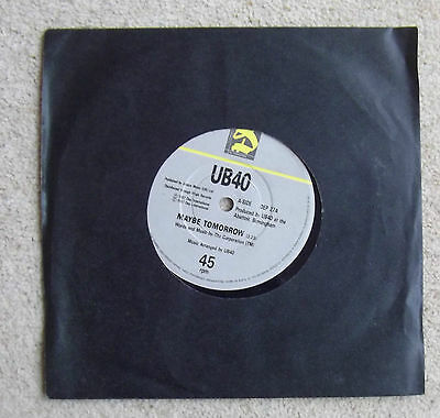 "Ub 40  '' Maybe Tomorrow / Dubwise ''  7 "" Single"