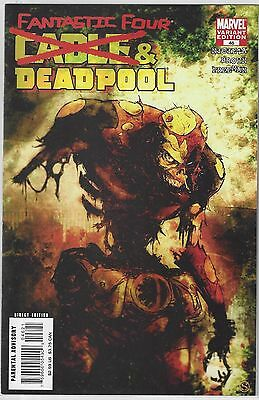 CABLE and DEADPOOL #46 Zombie Variant Cover NM+ (9.6)