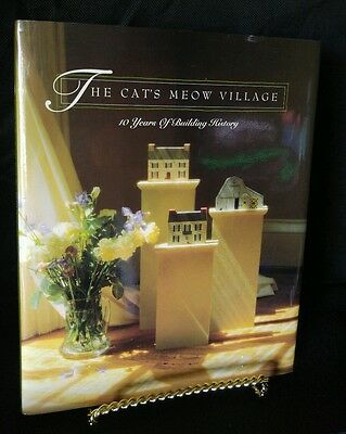 Cats Meow Collectibles - 10 years of building history - Book