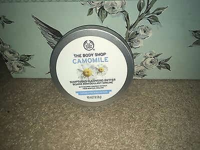 The Body Shop Camomile Sumptuous Cleansing Butter 90ml NEW