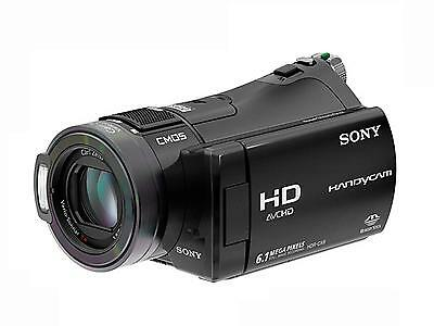 Sony Handycam HDR-CX6EK Camcorder schwarz - Digital HD Video Camera Recorder