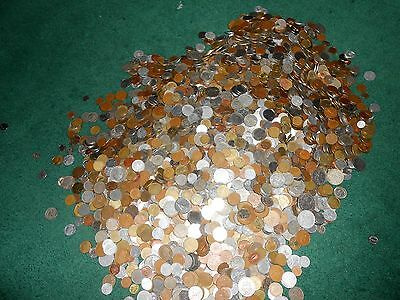 Nice Lot Of 1 Pound Of World Coins No Tokens Just Coins