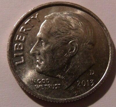 USA 10c Roosevelt - Dime - Denver Mint - Various Years - 1988 to 2015