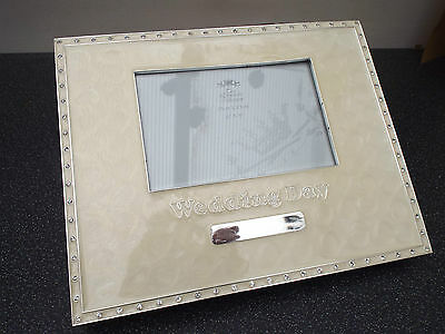 Wedding Day Guest Book Ivory Silver