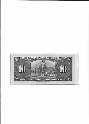 $10  Bank of Canada Banknote 1937 ( make OFFER )