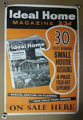 Four Ideal Home Magazine Posters from the 1950's