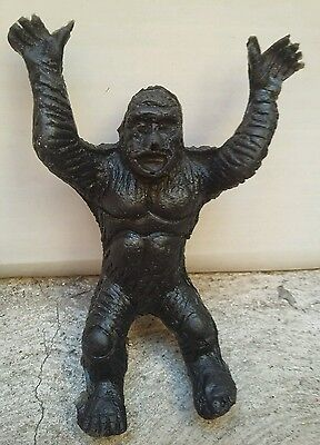 100%mexican Bootleg King Kong Rubber Figure Made In Mexico