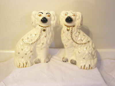 "Large Beswick Mantle Dogs -  10""  -  1378-3"