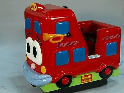 Coin operated kiddy ride