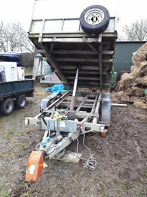 Ifor Williams Tipping/tipper Trailer 10Ft X 5Ft 2008