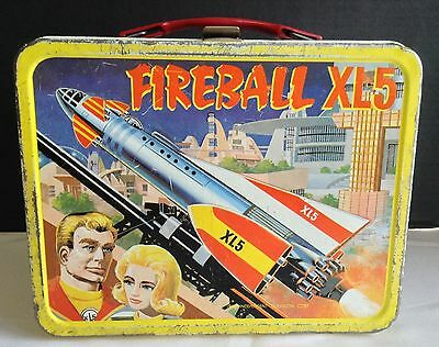 1964 FIREBALL XL5 METAL LUNCHBOX NO THERMOS space rocket