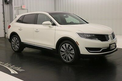 2016 Lincoln MKX BLACK LABEL MUSE THEME FWD NAV SUNROOF MSRP $56210 PANORAMIC VISTA ROOF LEATHER NAVIGATION REMOTE START REAR VIEW CAMERA