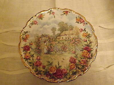 Royal Albert A Celebration of the Old Country Roses garden plate