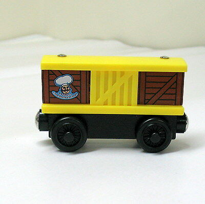 Thomas, Wooden, MR JOLLY'S CHOCOLATE FACTORY, BUNNY BOX CAR, 2003, EUC