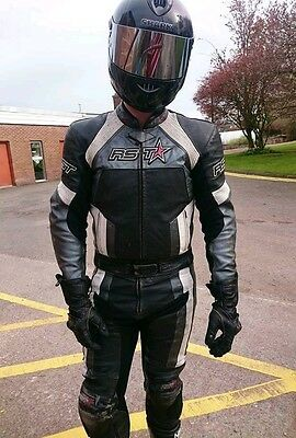 RST Leather 2pc suit EU56 UK46