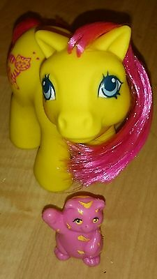 My Little Pony G1 Rare Euro Exclusive Best Friends Baby Katie & Kitty Cat Pet
