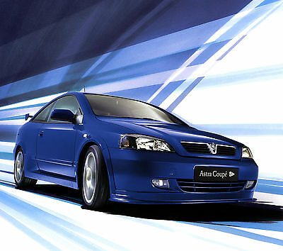 Vauxhall-Opel Astra Coupe Photo Collection 1999-2005 inc Turbo, BTCC, 888