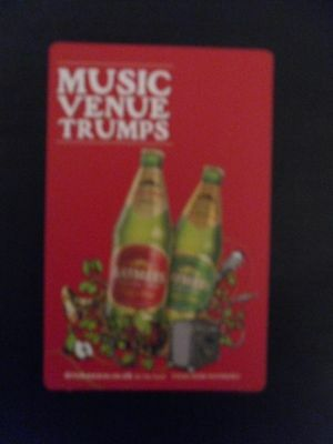Playing card - Gaymer's Cyder , Music Venue Trumps Game Card