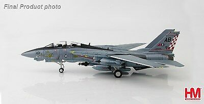 HOBBY MASTER 1/72  réf 5201 F-14A TOMCAT VF-211 FIGHTING CHECKMATES