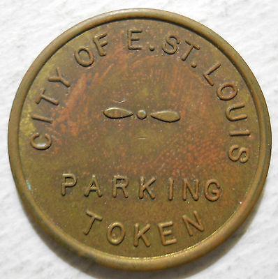 CIty of East St. Louis( Illinois) parking token - IL3250B