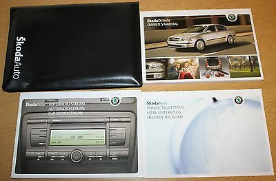 Skoda Octavia Ii Handbook Owners Manual Wallet 2004-2009 Pack 8050