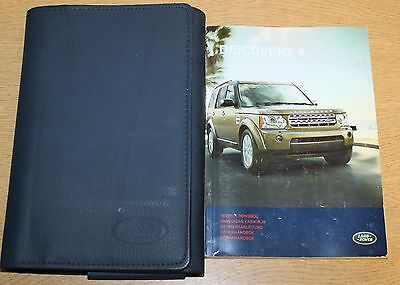Land Rover Discovery 4 Handbook Owners Manual Wallet 2009-2013 Pack 1982
