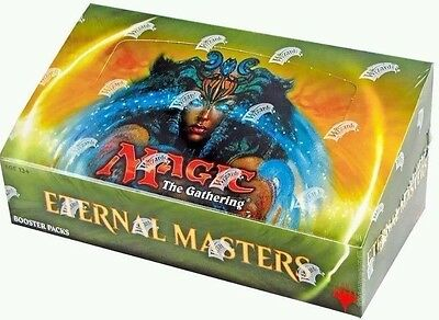 MTG Magic The Gathering Eternal Masters Booster Factory Sealed Box