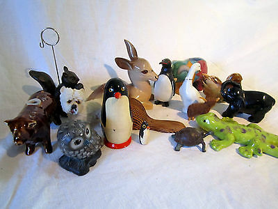 A Collection Of Wee Animal Ornaments