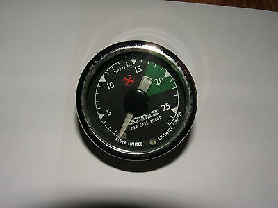 Redex Vacuum Gauge Car Care Robot Ford Cortina Mg Rover Riley Mg Austin Vauxhall