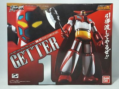 Soul Of Chogokin Gx-52 Getter 1 - Action Figure Robot Bandai Nuovo New