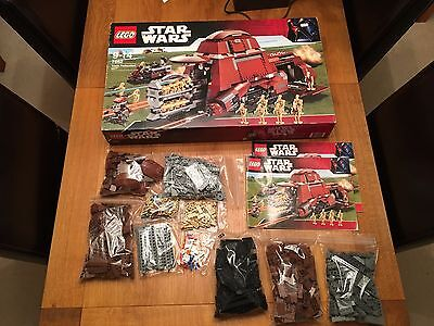 Lego Star Wars 7662 MTT (100% complete with minifig, instructions and box)
