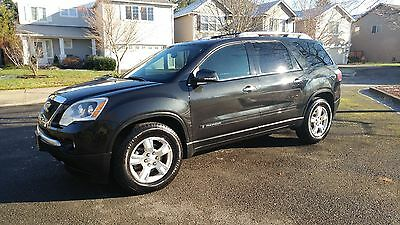 2008 GMC Acadia SLT1 2008 GMC Acadia One owner! Super clean! Leather, Tow Package, new tires!