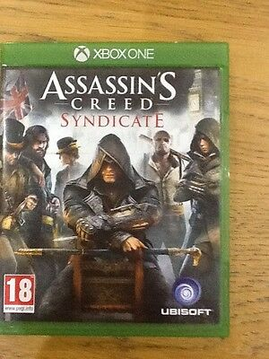 Assassins Creed Syndicate X box one game excellent condition