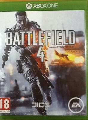 Battlefield 4 X box one game excellent condition